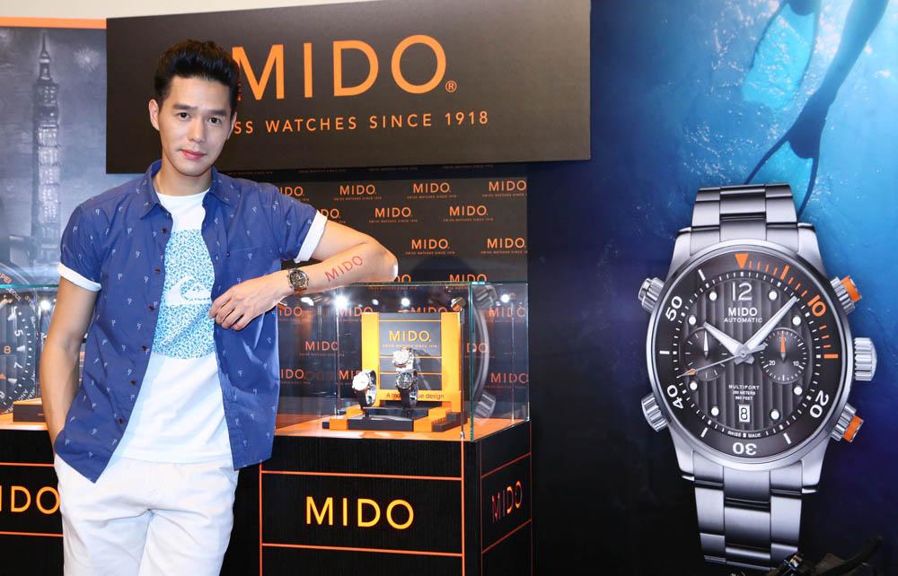 丁春誠演繹MIDO先鋒系列潛水計時腕錶