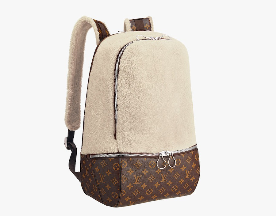 Louis-Vuitton-Marc-Newson-Fleece-Backpack-Ivory