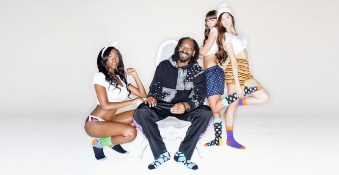 2014 FW Happy Socks X Snoop dogg-Art of Inspiration 嘻哈藝術衝撞全新創意火花  重量級聯名強力擴散_01