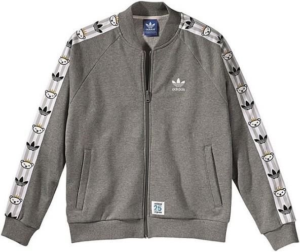 adidas Originals by NIGO 灰色經典運動外套 NTD 3490