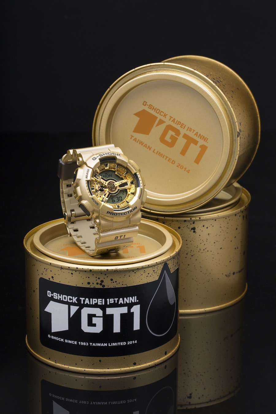 G-SHOCK STORE, TAIPEI一周年限量錶款_特殊包裝組_建議售價NT$6500