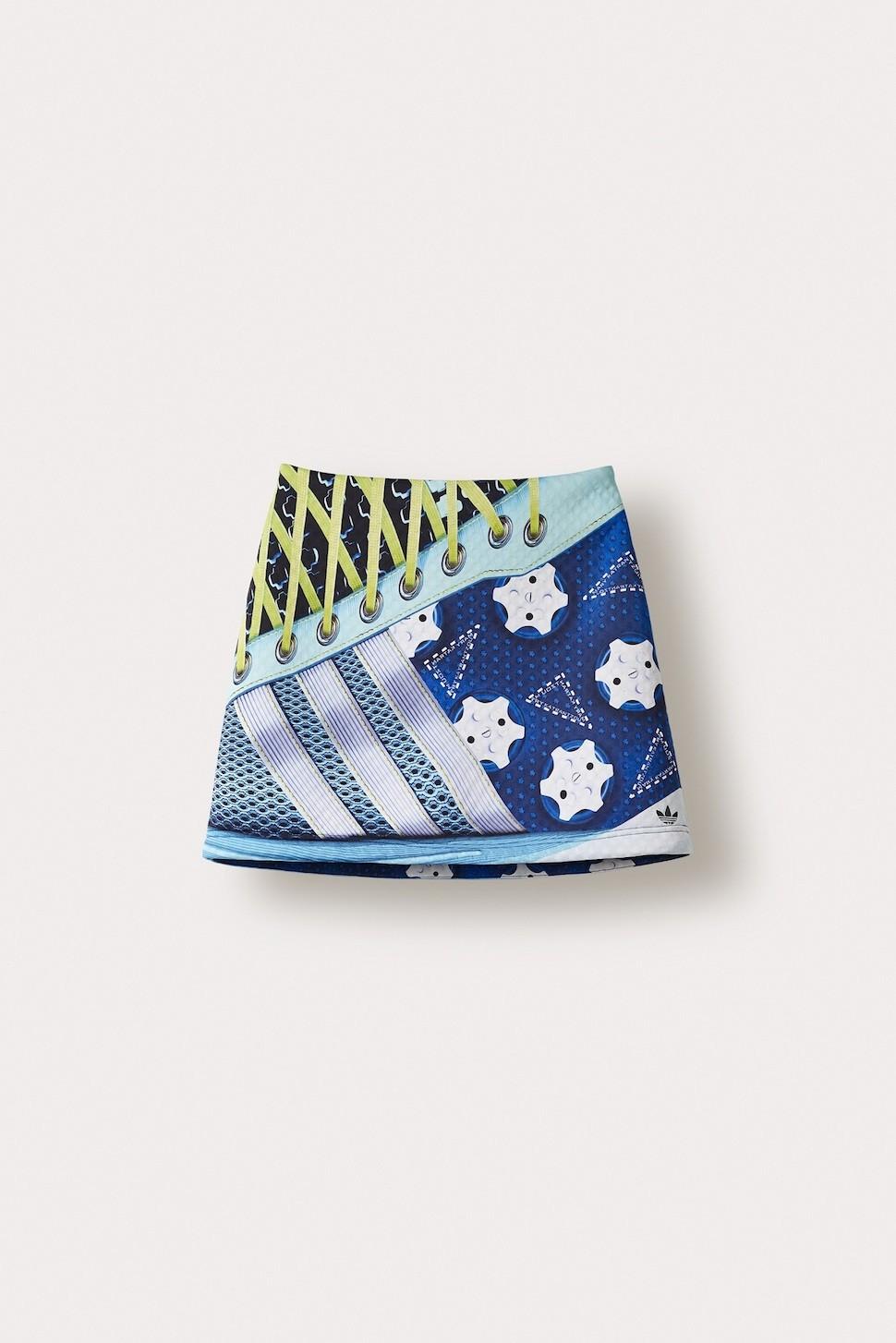 adidas Originals by Mary Katrantzou A字型短裙 NTD 7000