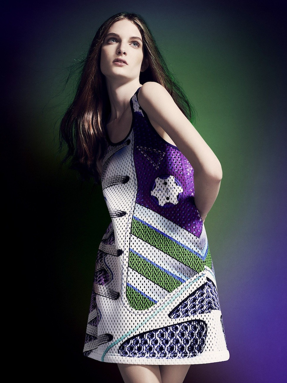 adidas Originals by Mary Katrantzou AW14模特兒形象照-1
