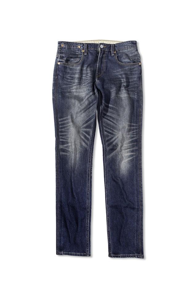 THERMOLITE系列 511 合身窄管丹寧褲-深邃湛藍