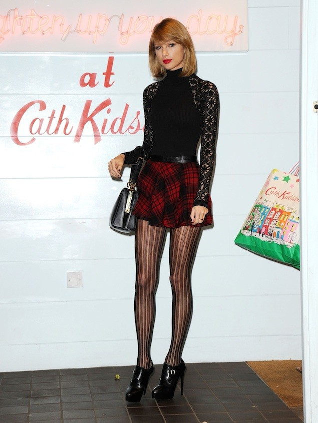 Taylor Swift Shops At Cath Kidston