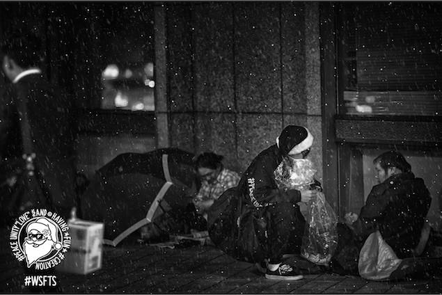 黑色聖誕老人-深夜出任務