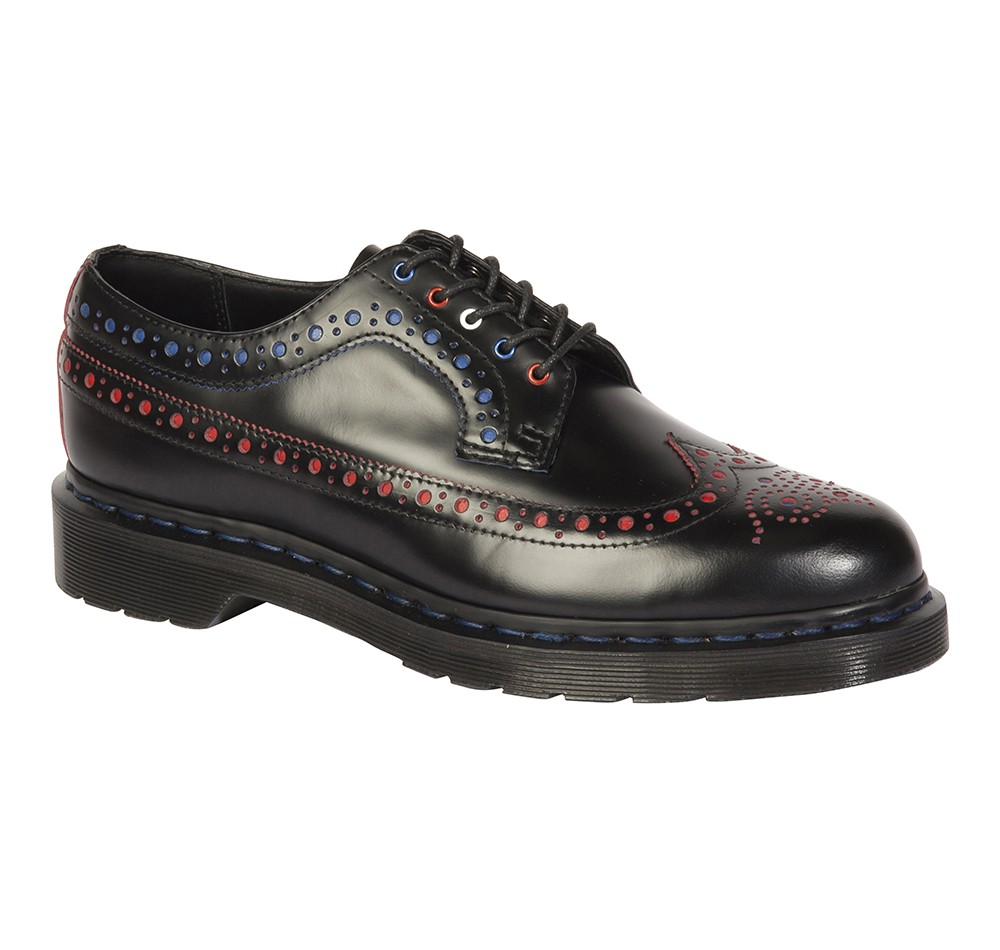 SC3990-01AC_16490001_Core_3990__Brogue Shoe_Black + Royal Blue Smooth Slice  BlackRed Smooth Slice_NT5680_3-11