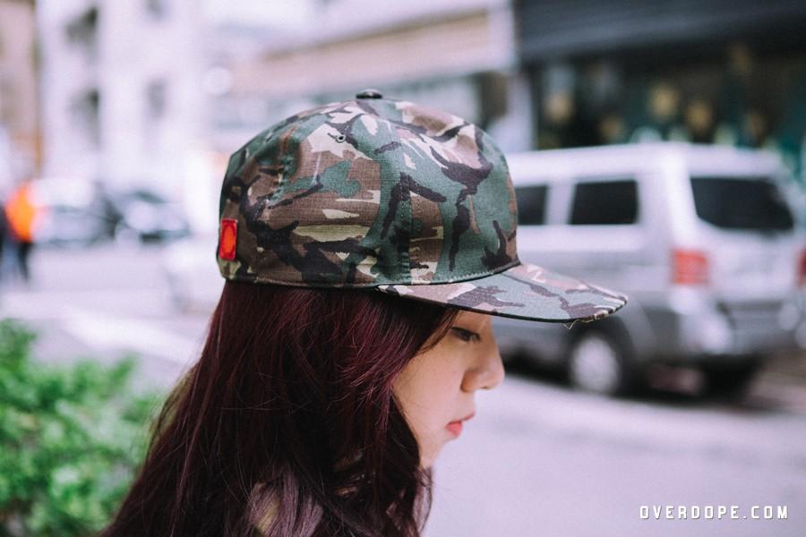 "Kazuki Kuraishi for CLOT / ""OMACCAMO"" SNAPBACK CAP / NT.2,280"