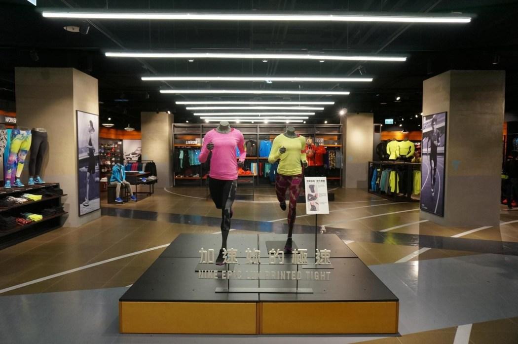 南紡夢時代Nike Super Store為全台灣百貨佔地最大Nike專櫃 (6)
