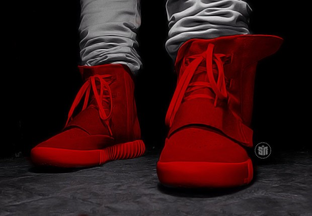 red-adidas-yeezy