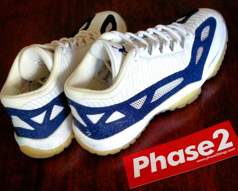 "Air Jordan 11 IE ""White/Navy""1996年"