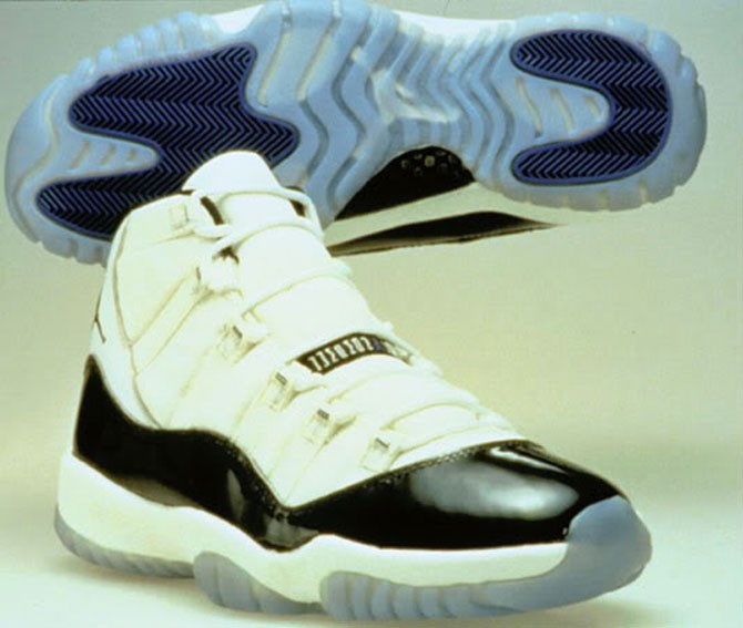 "Air Jordan 11 ""Concord with Lettering"""