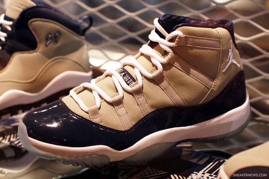 """Air Jordan 11 """"Georgetown""""2012年"""