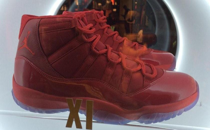"""Air Jordan 11 """"All Red""""2014年"""