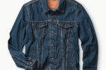 深色經典牛仔夾克