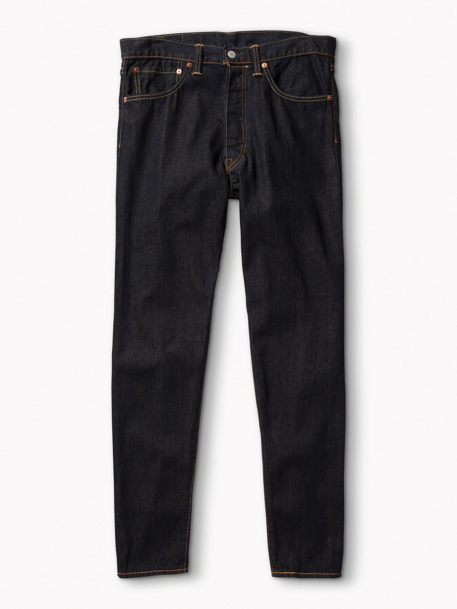男款501CT經典窄管丹寧褲(摩登靛藍)