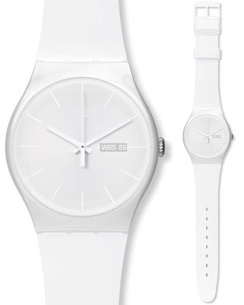 "Swatch ""Gent"" All White"