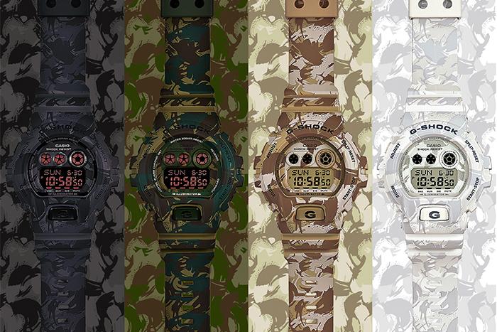 G-SHOCK GD-X6900CM酷炫穿梭迷彩叢林 強悍引爆街頭帥勁魅力形象照