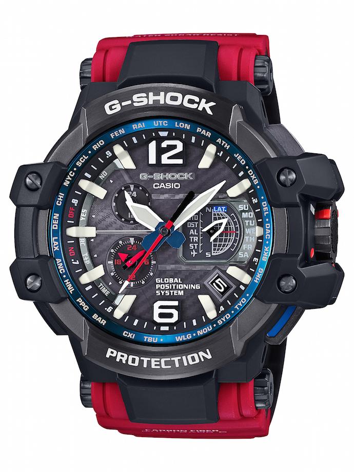 CASIO G-SHOCK GPW-1000RD-4A_建議售價NT$27,000