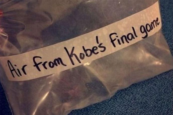 Kobe退役戰物品拍賣:毛巾值3.3萬,空氣2萬一袋,一物品竟拍出17.9萬!-黑特籃球-NBA新聞影音圖片分享社區