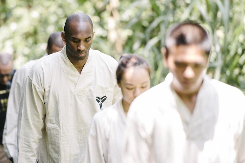 Kobe Bryant 曼巴精神之旅第二天(6月27日)上午來到台北貓空優人神鼓體驗東方禪鼓文化