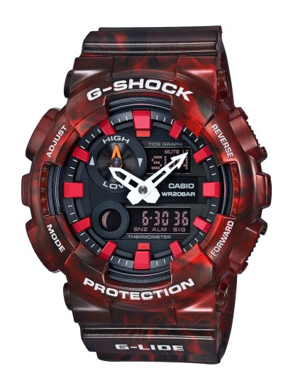 CASIO G-SHOCK G-LIDE_GAX-100MB-4A_建議售價NT$4,700