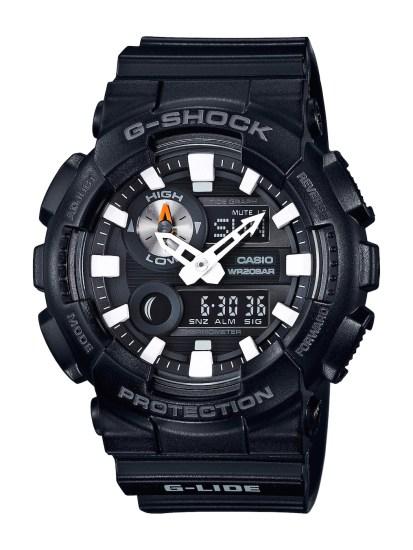 CASIO G-SHOCK G-LIDE_GAX-100B-1A_建議售價NT$4,000