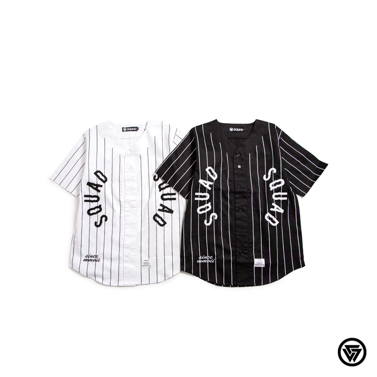 SQUAD 電繡棒球襯衫 $1980