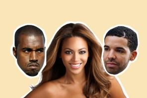 第 59 屆葛萊美獎入圍名單!Beyoncé 入圍九項大贏家,Kanye 跟 Drake 入圍八項緊咬!
