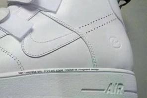 Nike Air Force 1 瘋狂聯名,這次終於等到潮流教主「藤原浩」出招了?!