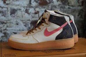 完美重製,球鞋客製品牌 JBF Customs 打造「LV」Air Force 1