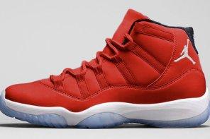 2017 年底大魔王是這雙「鮮豔小紅」!?Air Jordan 11 Gym Red 將引爆紅鞋熱潮?