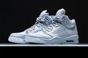 質感升級再進化!Air Jordan 5 一次滿足你黑與白的奢華想像!