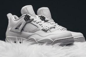 身為一個鞋癡你把持的住?復刻絕美作 Air Jordan 4 Pure Money 將提前發售!
