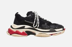 三層底的高端魅力!Balenciaga Triple-S Sneaker 新配色曝光!