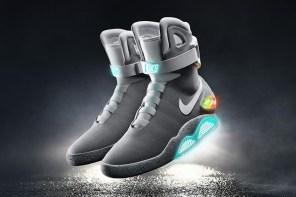 現在又有機會獲得有史以來最高科技的球鞋 —— Nike Air MAG!