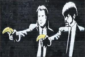 藝術恐怖份子 Banksy 真實身分曝光!?多虧 DJ Goldie 說溜嘴!