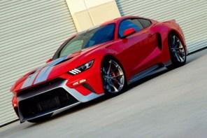 Ford 旗下兩大將 GT 和野馬若融合之後,會生出什麼兇惡的野獸?