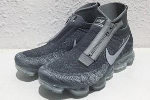 雙色拉鍊跟反光細節?最帥變形版 Nike Air VaporMax!