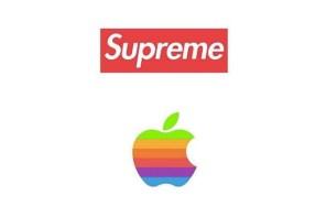 Supreme X APPLE 聯名儼然成形?
