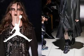 川久保玲 x Air Jordan 1 聯名鞋首度正式曝光