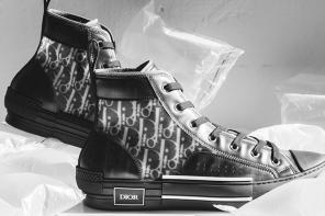 「黑魂」美到我不敢看!Dior 的黑色版透明帆布鞋會不會太誘人!