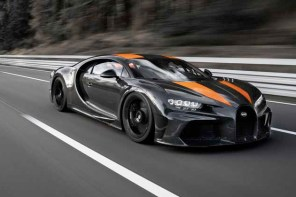 每小時 490.484 公里!Bugatti Chiron 1 正式成為地表最會跑車款!