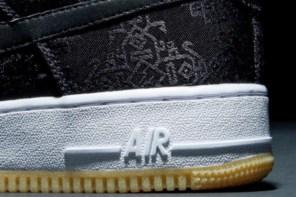 陳冠希號招 Nike 與藤原浩打造的「黑絲綢」之細節曝光