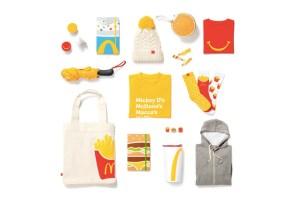 McDonald's 首次推出聖誕節時尚小物系列