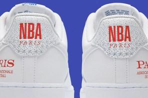 籃球迷注意!NBA 首場法國巴黎季賽紀念鞋款曝光