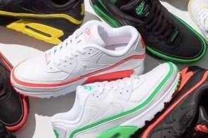 開年最重磅?!Nike AM 90 一次跟 UNDEFEATED 推 8 色聯名!