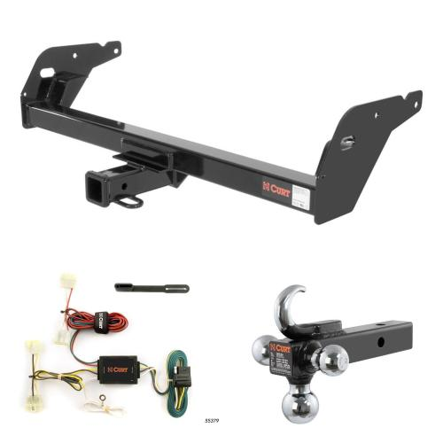 small resolution of curt trailer hitch wiring w tow hook ball mount for 95 04 toyota tacoma