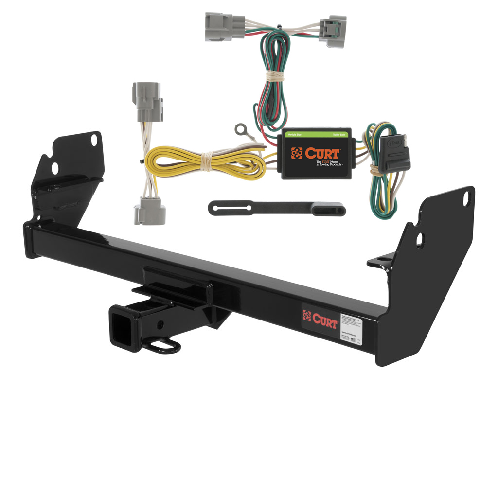 hight resolution of curt class 3 trailer hitch wiring for 2005 2015 toyota tacoma