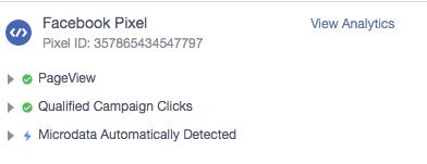 Facebook Custom Pixel Event